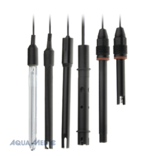 Plastic probe pH