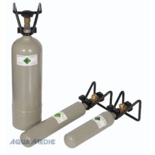 station 2 kg C02 bottle with cage