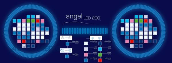 angel LED 200 black