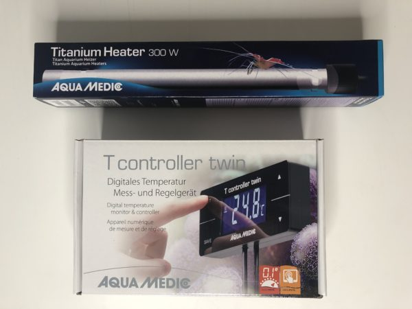 Titanium Heater & Touch Screen Controller Package 300W