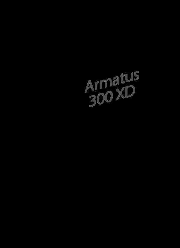 Armatus 300 XD White
