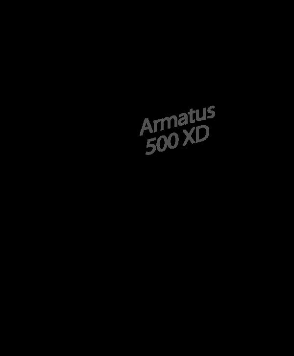 ARMATUS 500 XD WHITE