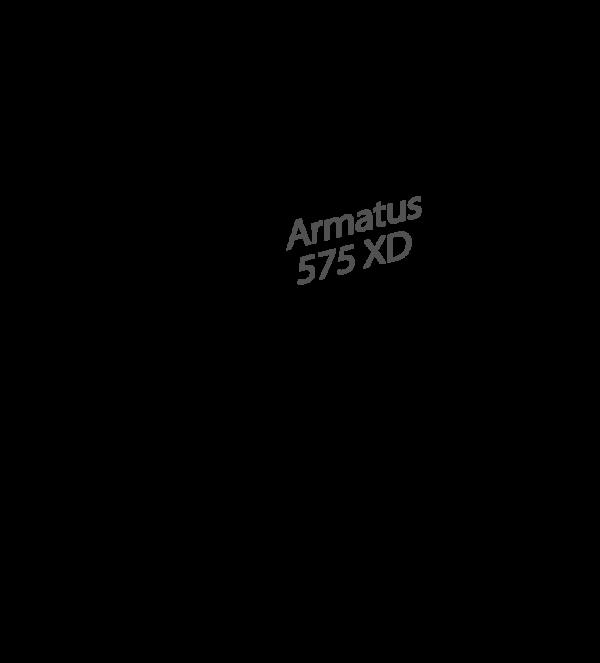 ARMATUS 575 XD WHITE