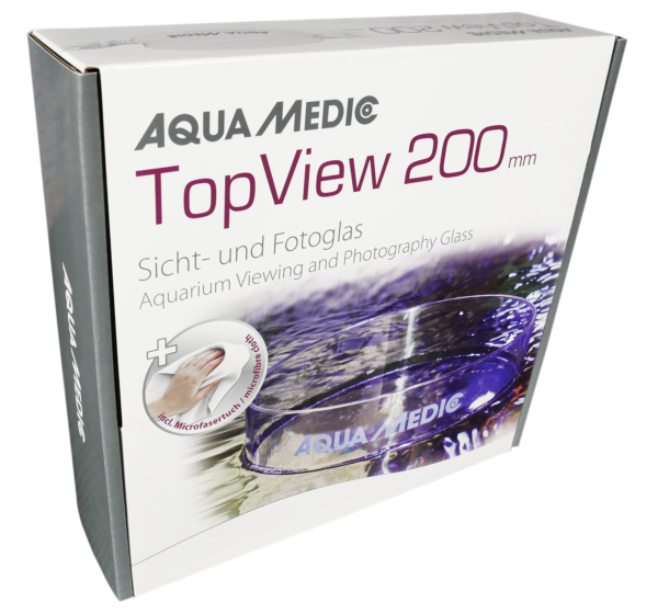 TopView 200mm Coral Viewer Inc Micro Fiber Cloth