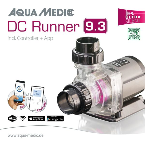 DC Runner 9.3 – 24 V Up To 9000 L/H New 2021 Version